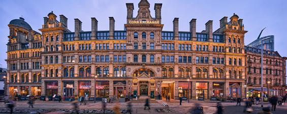 Aparthotels in Manchester Corn Exchange